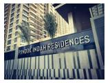 For Rent or Sell Pondok Indah Residences Apartment - 1/2/3BR (Semi & Fully Furnished)