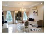 Disewakan Apartemen Somerset Berlian Permata Hijau – 2 + 1 BR / 3 + 1 BR Fully Furnished