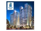 Disewakan unit studio Capitol Park Residence Full Furnished - Salemba dekat UI